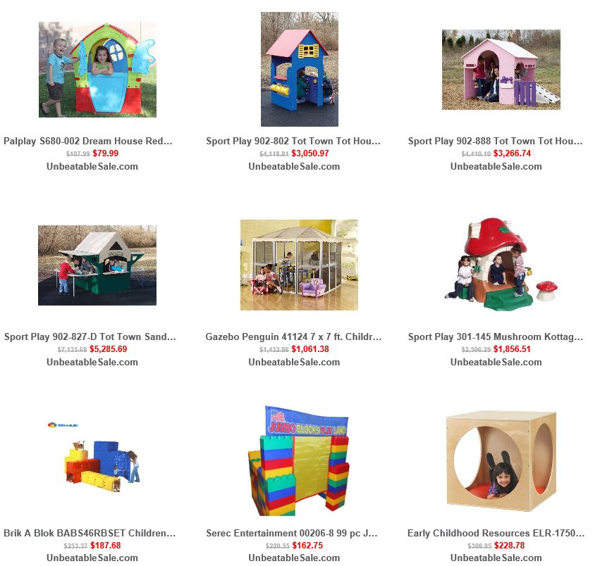 Playhouses from Unbeatablesale 2