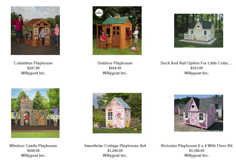 Playhouses from Willygoat 1