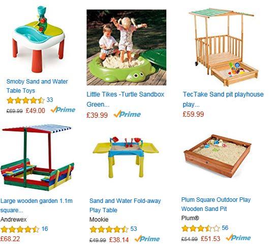 Sandboxes from Amazon UK 1