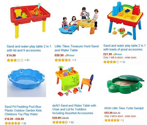 Sandboxes from Amazon UK 3