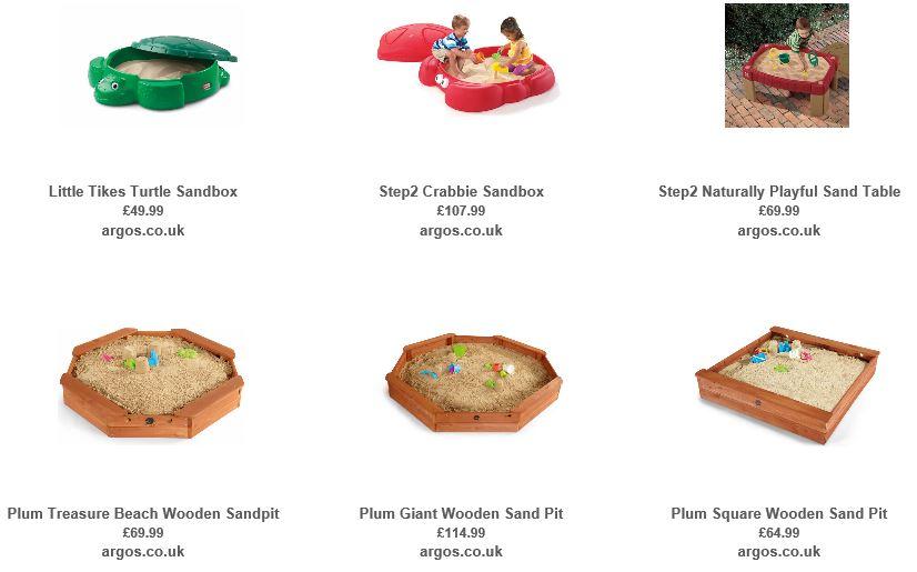 Sandboxes from Argos 1