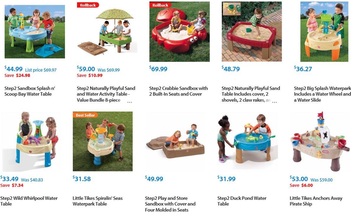 Sandboxes from Walmart 1