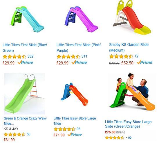 Slides from Amazon UK 1