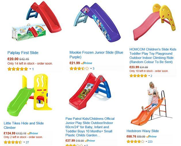 Slides from Amazon UK 2