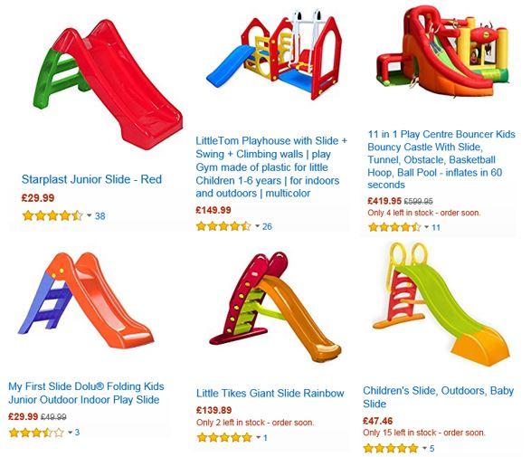 Slides from Amazon UK 3