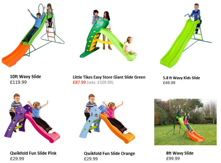 Slides from Smyths Toys UK 1