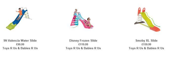 Slides from Toys R Us UK 2