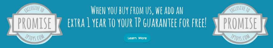 TP Toys UK guarantee