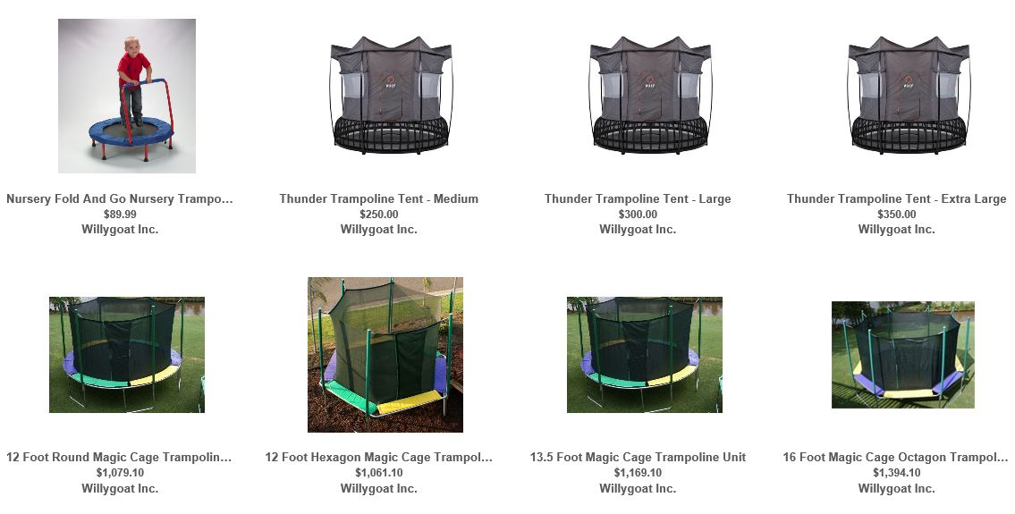 Trampolines from Willygoat 1