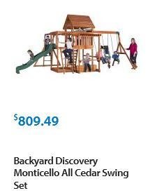 Backyard Discovery Monticello, Walmart