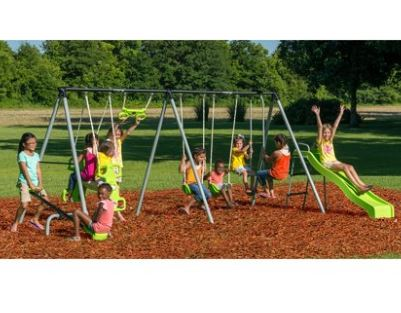 Flexible Flyer World Of Fun Swing Set Review Our Feedback Swing