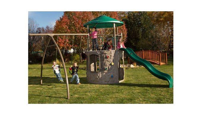 Lifetime Adventure Tower Playset 90633 Full Review Faq Swing